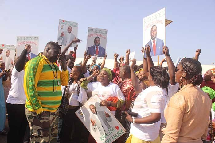 Libération de Khalifa Sall et Bamba Fall: Taxawou Sénégal marche le 3 avril sur le Boulevard général De Gaulle