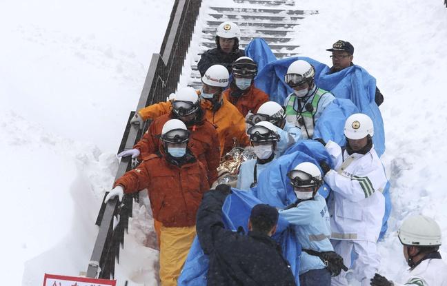 Japon: Huit lycéens emportés par une avalanche lors d'une excursion d'alpinisme