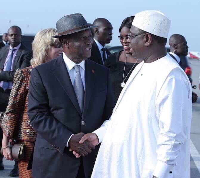 Côte d'Ivoire: Macky Sall participe à la CIEA