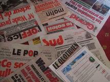 Les quotidiens de la presse Sénégalaise