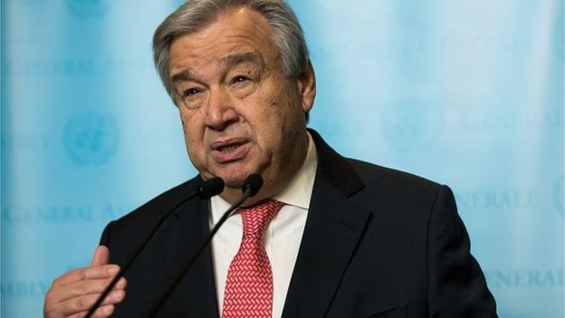 RDC : Antonio Guterres triste après la mort des experts de l'ONU
