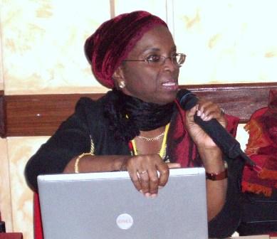 La présidente de l'ONG Bokk-Jang, Fatimata Sèye Sylla