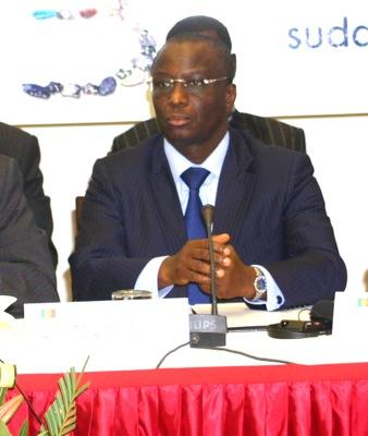 Le ministre des Finances du Sénégal