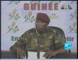 Moussa Dadis Camara nouveau Président de la République  Guinée Conakry