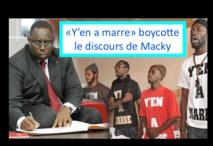 """Adresse à la nation: Le Mouvement """"Y'en a marre"""" boycotte le discours de Macky"""