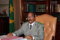 Le général Mohamed ould Abdel Aziz.