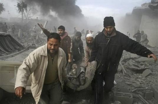 photos - Frappes israéliennes sur la Bande de Gaza: au moins 145 blessés, selon des sources palestiniennes
