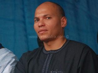 Le président de l'ANOCI et fils du chef de l'Etat sénégalais, Karim Wade