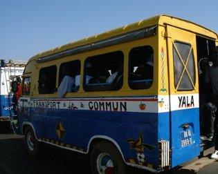 Sénégal, transport