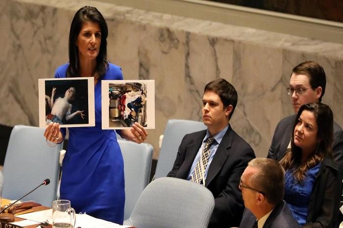 Attaque chimique en Syrie: bras de fer entre Russes et Occidentaux à l'ONU