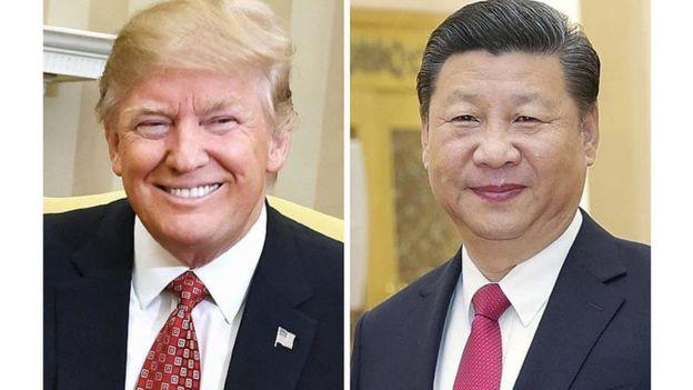 USA-Chine: Xi Jingping chez Trump