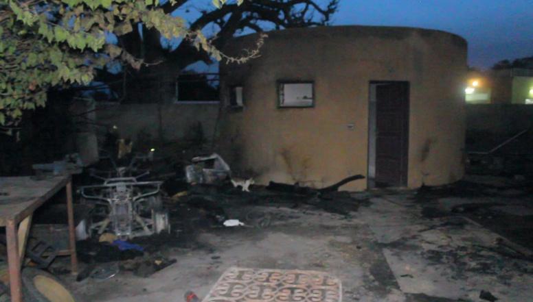 PHOTOS - Incendie à Saly: Un atelier de location Buggy et Squad part en fumée