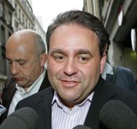 Xavier Bertrand deviendra officiellement le nouveau secrétaire général de l'UMP samedi lors du Conseil national du parti présidentiel.(Photo : AFP)