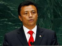 Le président malgache Marc Ravalomanana.( Photo : Reuters )