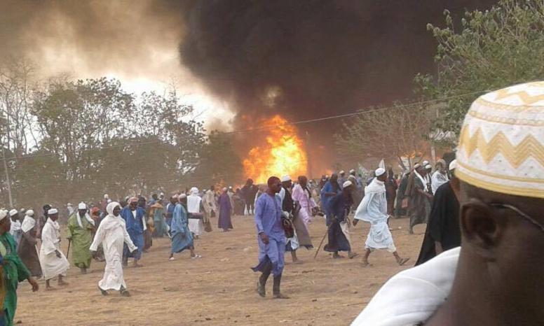 Incendie Daaka Médina Gounass: une dizaine de corps calcinée