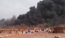 Incendie Daaka: l'Etat débloque une enveloppe de 10 millions «pour l'urgence», (infirmier)