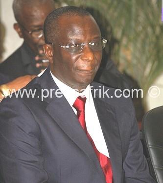 Le ministre d'Etat, ministre de l'Economie et des Finances du Sénégal, Abdoulaye Diop