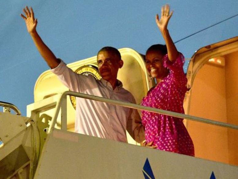 Les vacances très people du couple Obama avec Tom Hanks