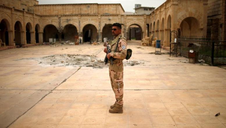 A Qaraqosh, des chrétiens d'Irak reviennent pour célébrer Pâques