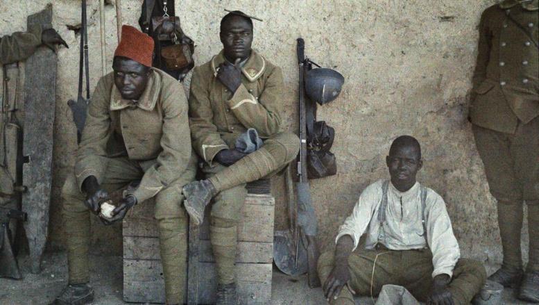 Centenaire du Chemin des Dames: le sacrifice des tirailleurs sénégalais