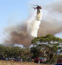 incendie dans  l'Etat du Victoria