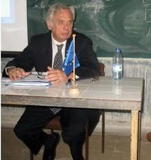 L'ambassadeur de l'Union Européenne et chef de la commission de l'UE au Sénégal, Gilles Hervio