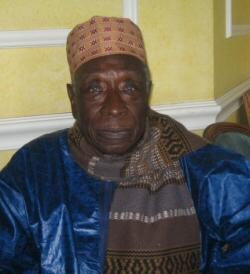 L'ancien conservateur de la maison des esclaves de Gorée, Boubacar Joseph Ndiaye