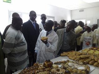 Inauguration du centre de formation en boulangerie des GMD