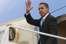 Barack Obama, en déplacement pour vanter les mérites de son plan de relance, le 10 février. (Photo: Reuters)