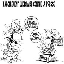 Liberté de presse hypothéquée (Planche: lematindz.net)