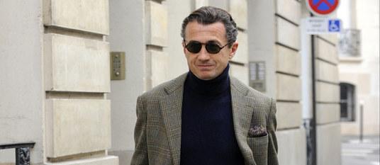 François Sarkozy, frère cadet du président de la République. Abaca