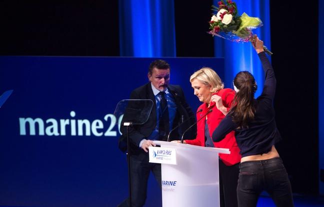 Marine Le Pen chauffe ses troupes avant le premier tour