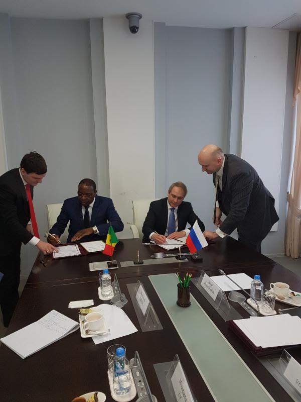 Coopération - Sénégal et Russie: Mankeur Ndiaye en séance de travail avec Oleg Ryasantsev