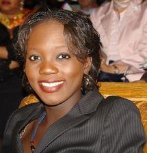 La secrétaire d'Etat aux droits de l'homme de la France, Rama Yade