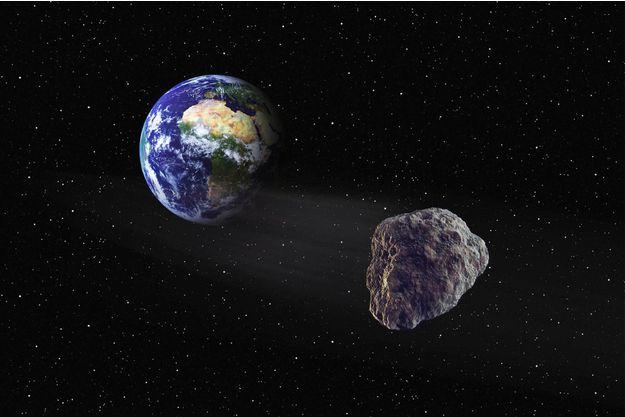 """Mercredi, un astéroïde de 600 mètres de large va """"frôler"""" la Terre"""