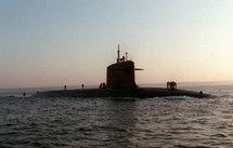 Le Triomphant aurait été victime d'une collision avec un sous-marin britannique. (Maxppp)