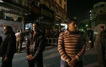 Les forces de sécurité égyptiennes ont dressé un barrage autour du lieu de l'explosion. (Photo: Reuters)
