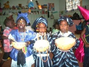 Mardi gras à Dakar : la vielle du carême célébrée par les enfants
