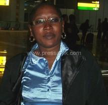 La présidente des jeunes reporters du Sénégal, Aïssatou Mbène Kane