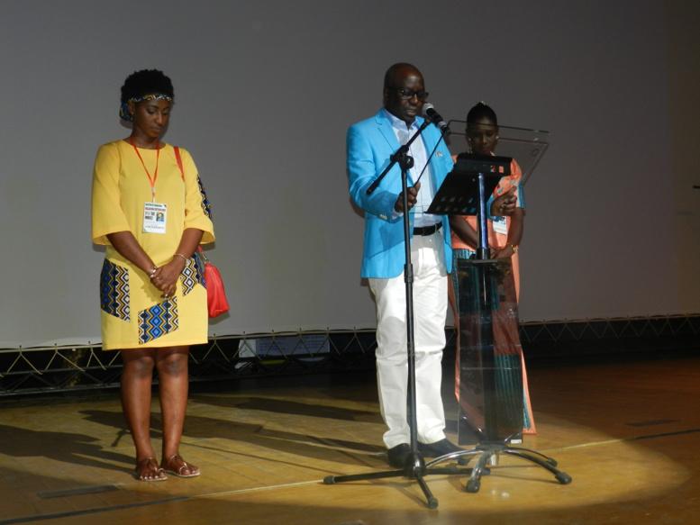 Papa Maël Diop, parrain du week-end d'intégration de l'IAM