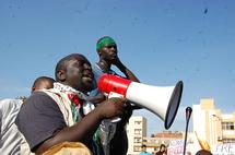 Mouhamadou Barro, journaliste et membre de l'Association des Etudiants et Eleves Musulmans du Sénégal (AEEMS)