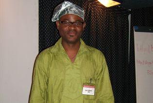 Le coordonnateur programme Usages et Politiques du Numérique de l'IPAO, Ken Lohento