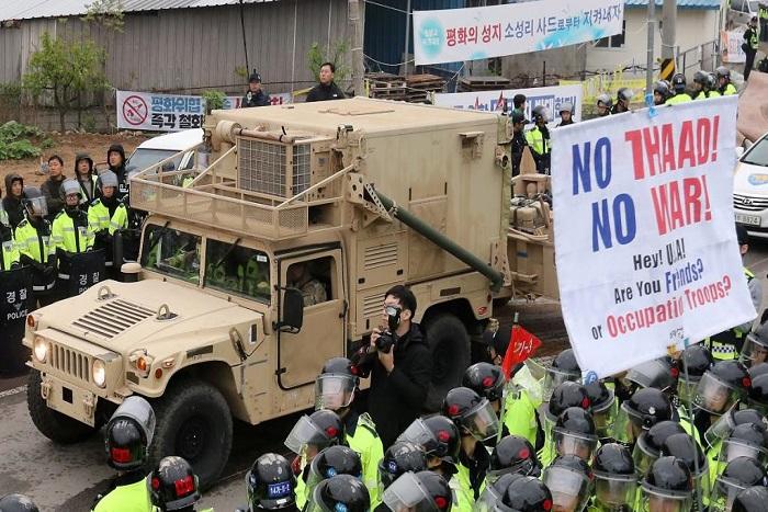 Corée du Sud: le bouclier antimissiles THAAD en cours de déploiement