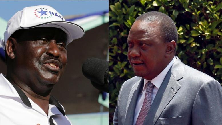 Présidentielle au Kenya: vers un nouveau duel Odinga-Kenyatta