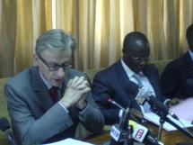 Le ministre de l'Economie et des Finances en compagnie de l'Ambassadeur de France au Sénégal
