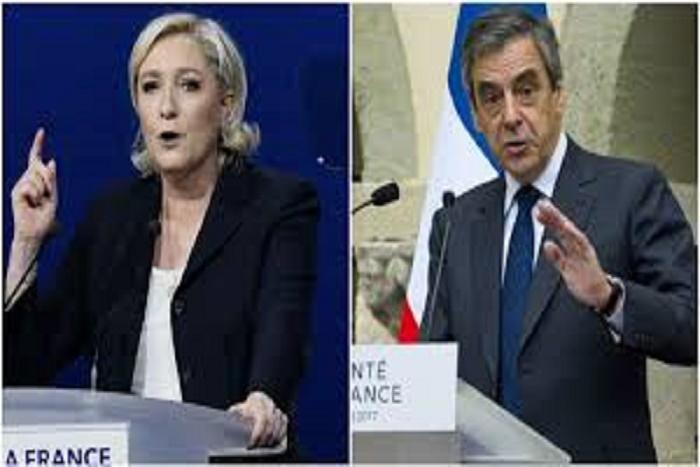 Marine Le Pen a plagié mot pour mot plusieurs passages d'un discours de François Fillon