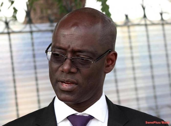 Précisions du Palais: Thierno Alassane Sall a été limogé