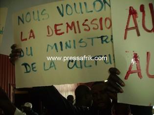 Sénégal - théâtre - manif des animateurs culturels: le ministère de la culture perd le nord