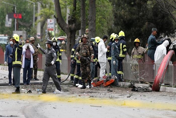 Afghanistan: attentat meurtrier contre un convoi de l'Otan à Kaboul