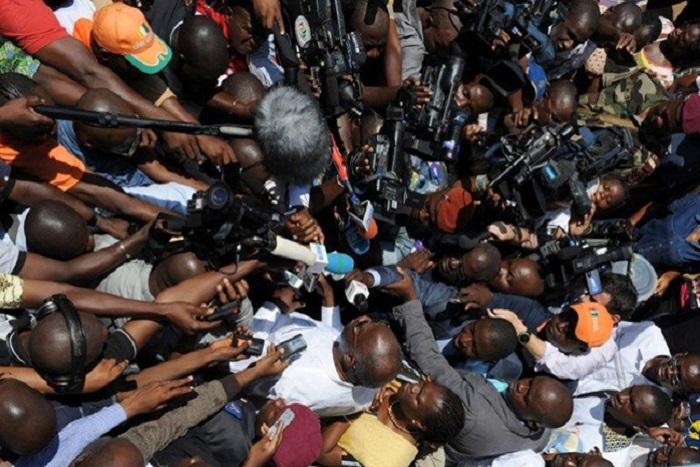 Marche de la CAP: les reporters partagés